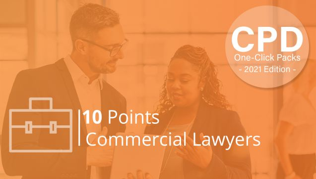 One-Click CPD Compliance for Commercial Lawyers (10 Points)