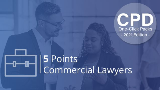 One-Click CPD Compliance for Commercial Lawyers (5 Points)