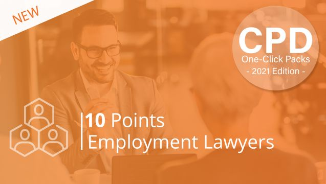 One-Click CPD Compliance for Employment Lawyers (10 Points)