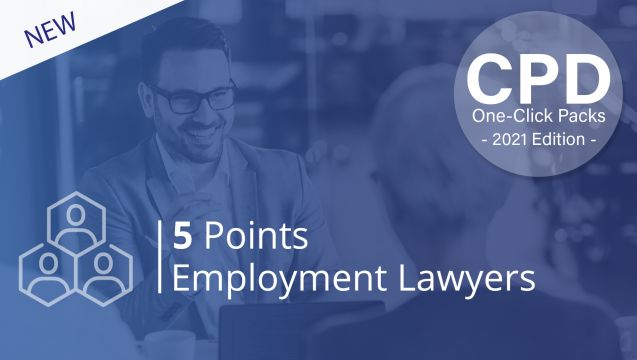 One-Click CPD Compliance for Employment Lawyers (5 Points)