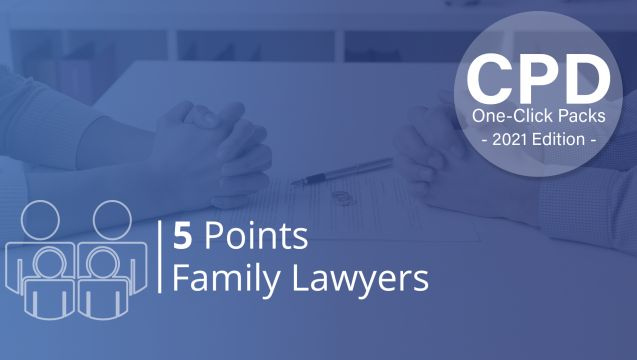 One-Click CPD Compliance for Family Lawyers (5 Points)