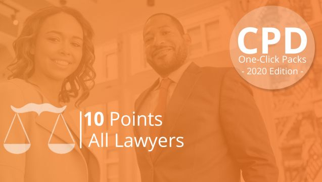 One-Click CPD Compliance for All Lawyers (10 Points)