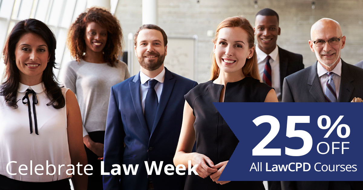 LawCPD Law Week 2019 Offer