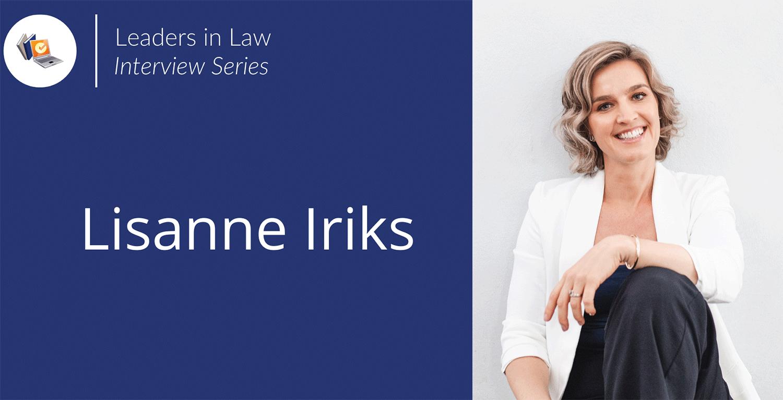 Leaders in Law - Lisanne Iriks