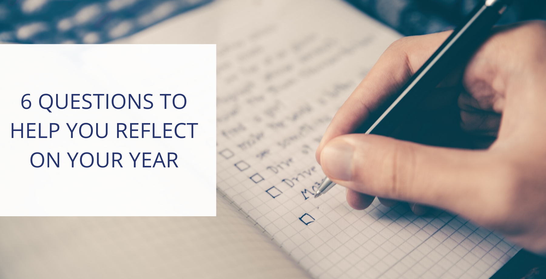 6 reflective questions to help you start the New Year with a bang.