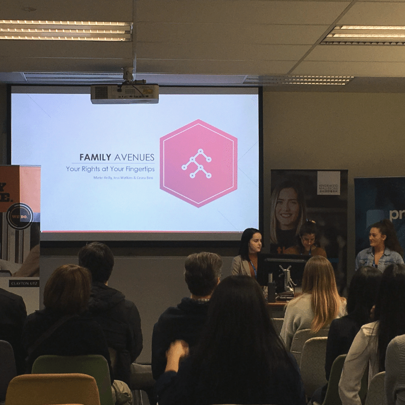 Team Family Avenues UWA Hackathon 2019