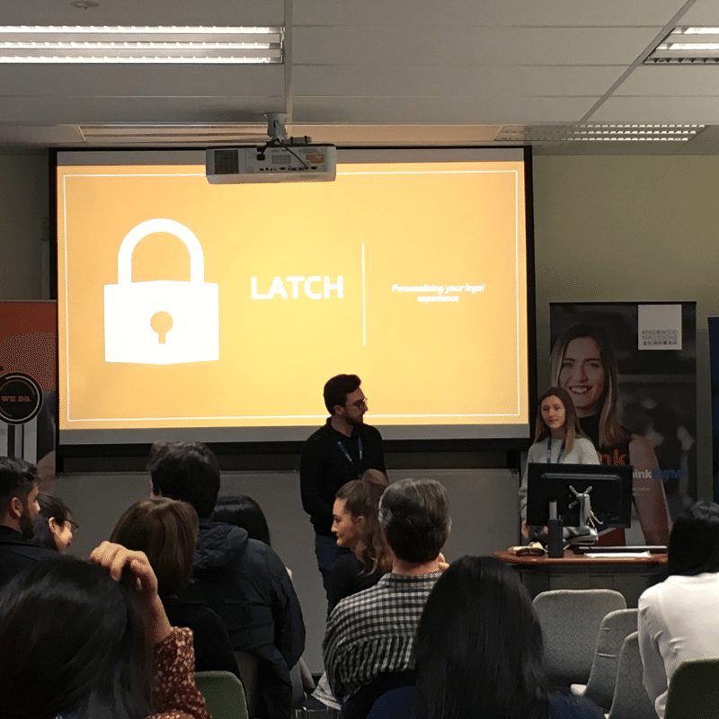 Team Latch UWA Hackathon 2019