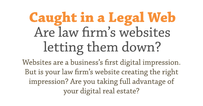Risks for legal firm using websites