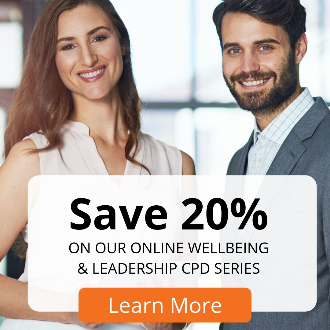 Click to save 20% on wellbeing CPD