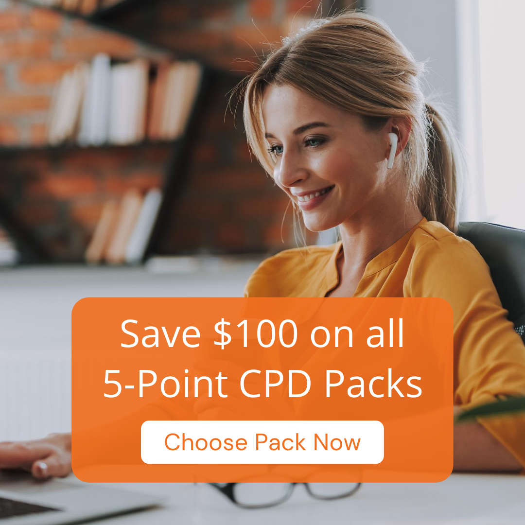 Save $100 On Legal CPD Now